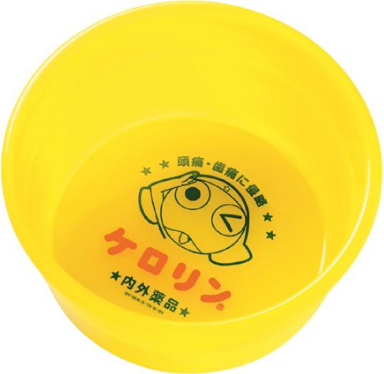 ケロリングッズ:☆ケロロ☆×ケロリン コラボ桶