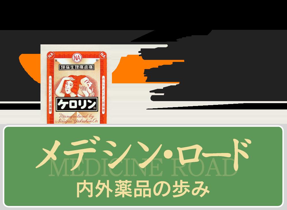 ケロリンCM・広告【メディシンロード・内外薬品の歩み】